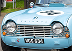 【ブランズハッチ】BRANDS HATCH GP HISTORICAL FESTIVAL 24 | Triumph TR4 1962, MG MGB 1965